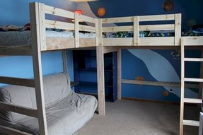 L Shape Loft Bed Foter