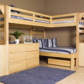 L Shape Loft Bed - Ideas on Foter