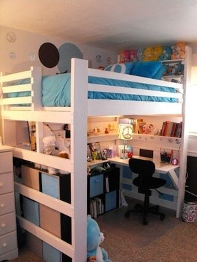 L shaped cabin beds