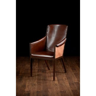 Leather Dining Room Chairs With Arms Ideas On Foter