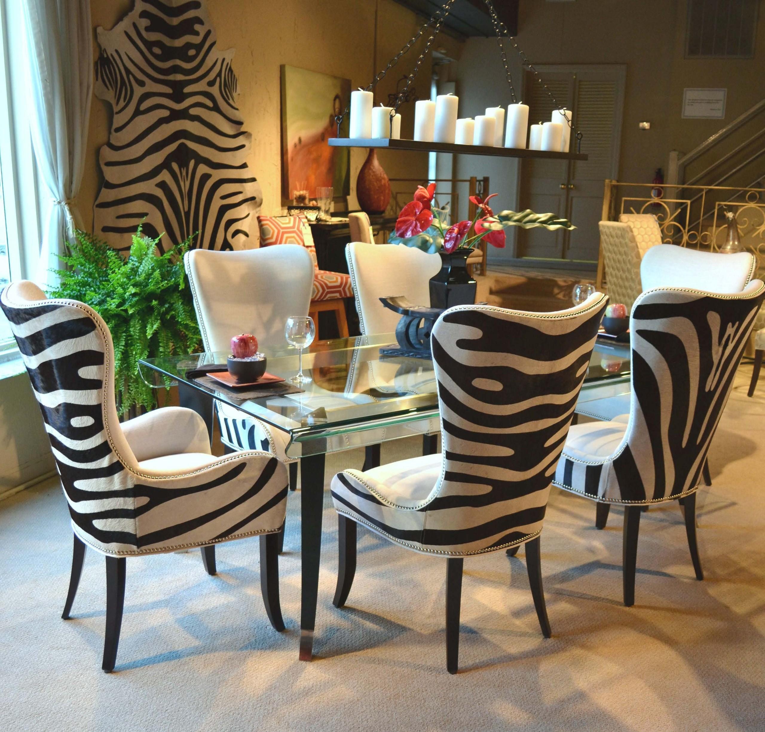 Leopard Living Room Set