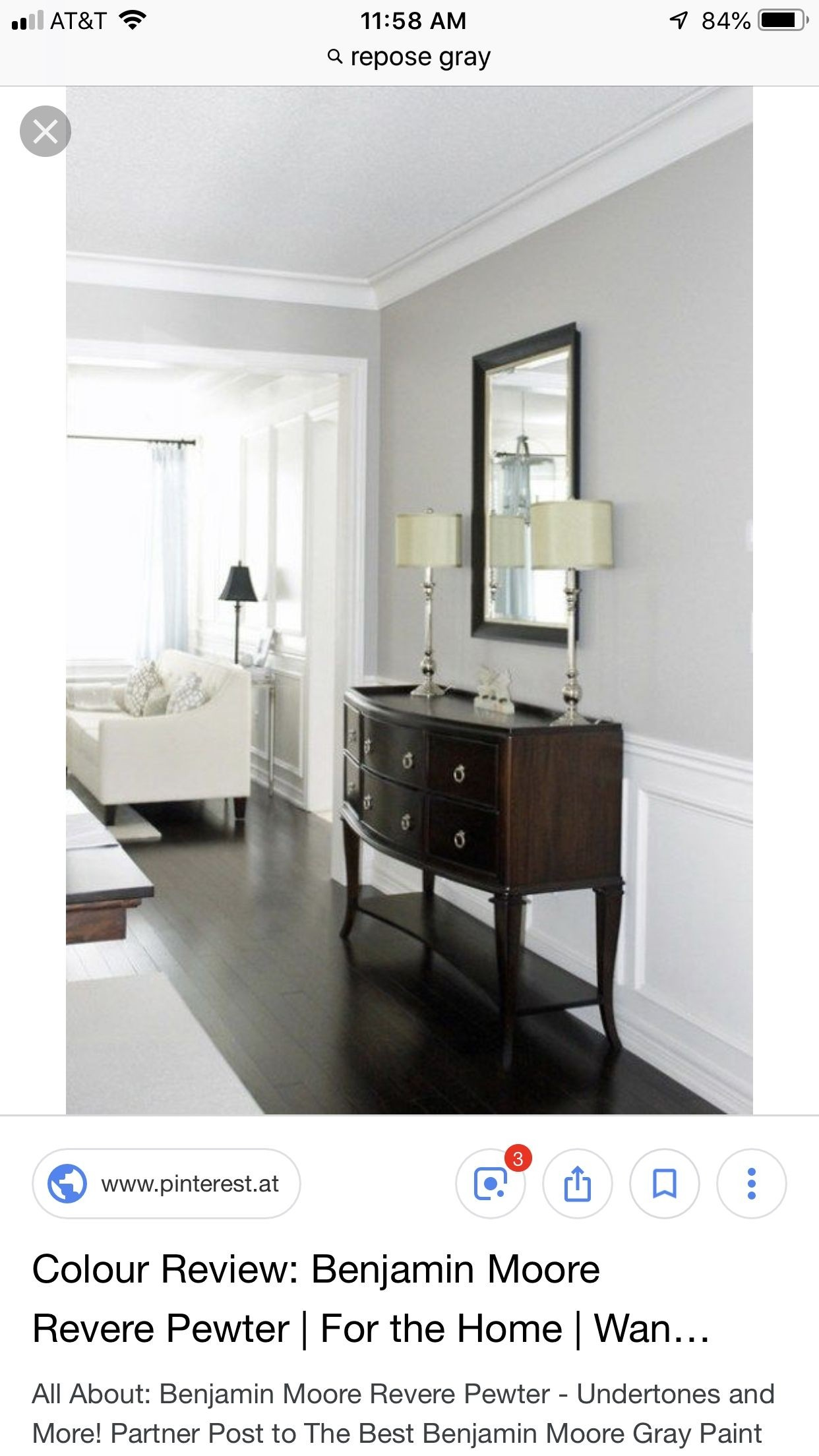 Light Wood Console Table