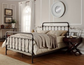 Wrought Iron Headboard Full Ideas On