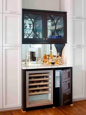 Bar Cabinet With Wine Fridge Foter