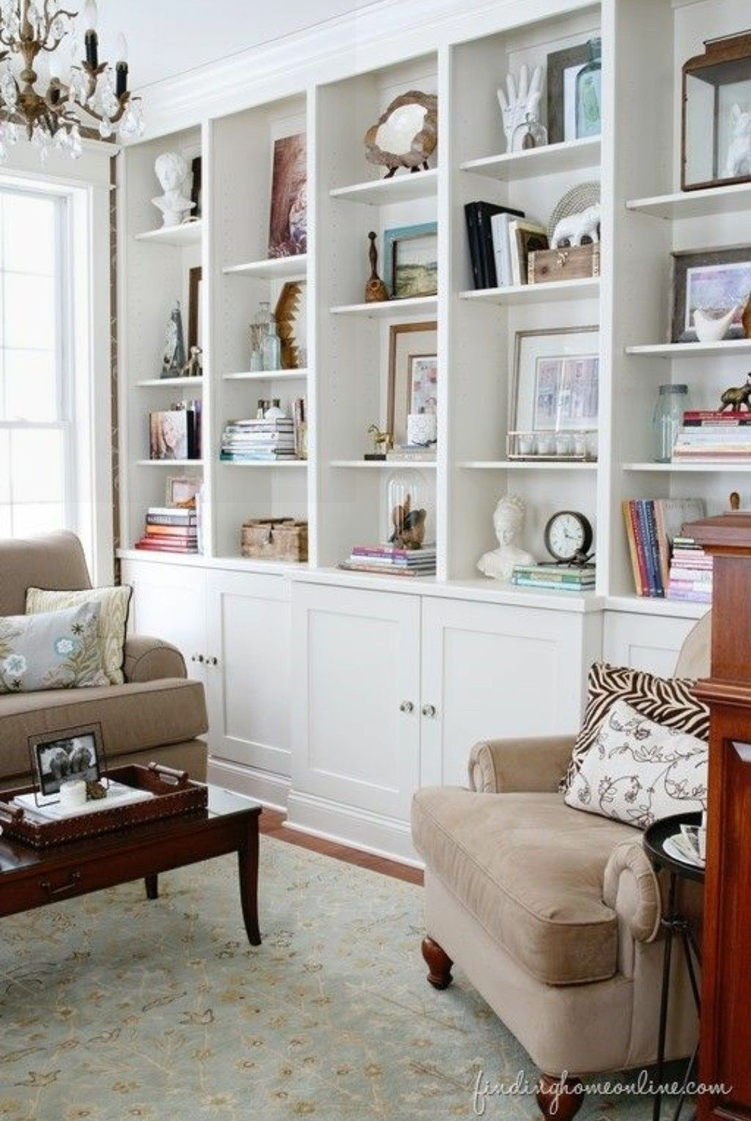 Awesome Shelving Ideas For Living Room Walls Set