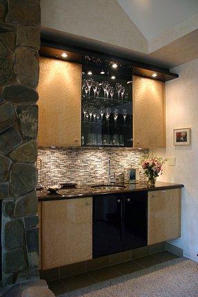 Modern Home Bar Cabinet 10