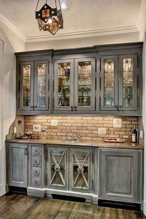 Modern Home Bar Cabinet 9