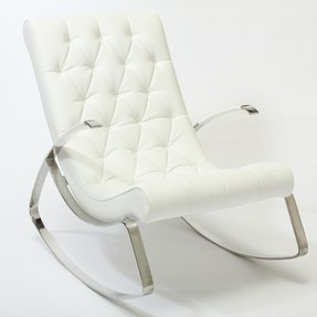 Modern Leather Rocking Chair Foter
