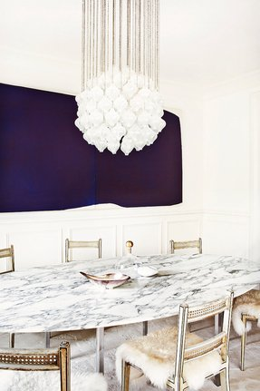 Modern marble dining table 3