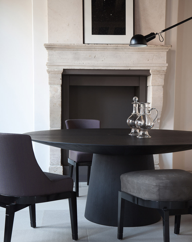 Modern Pedestal Table