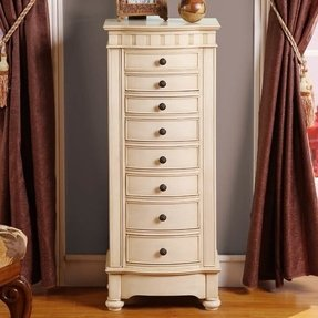 Murphy Jewelry Armoire with Mirror