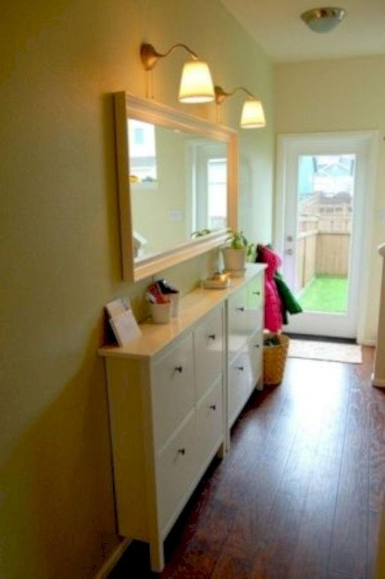 New Narrow Cabinets With Doors Decoration