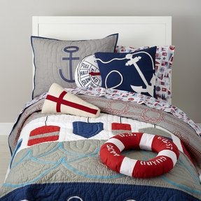nautical sheet sets 1 - Nautical Bedding