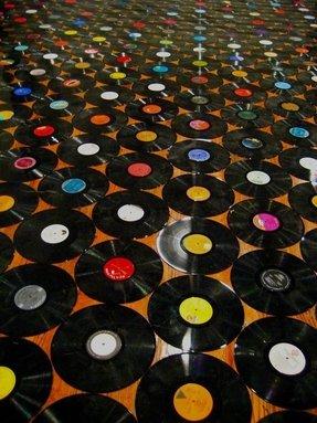 Retro Vinyl Tile