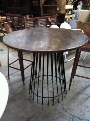 Round Bar Height Dining Table - Ideas On Foter