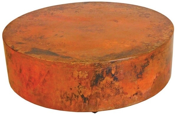 Round Copper Coffee Table Foter
