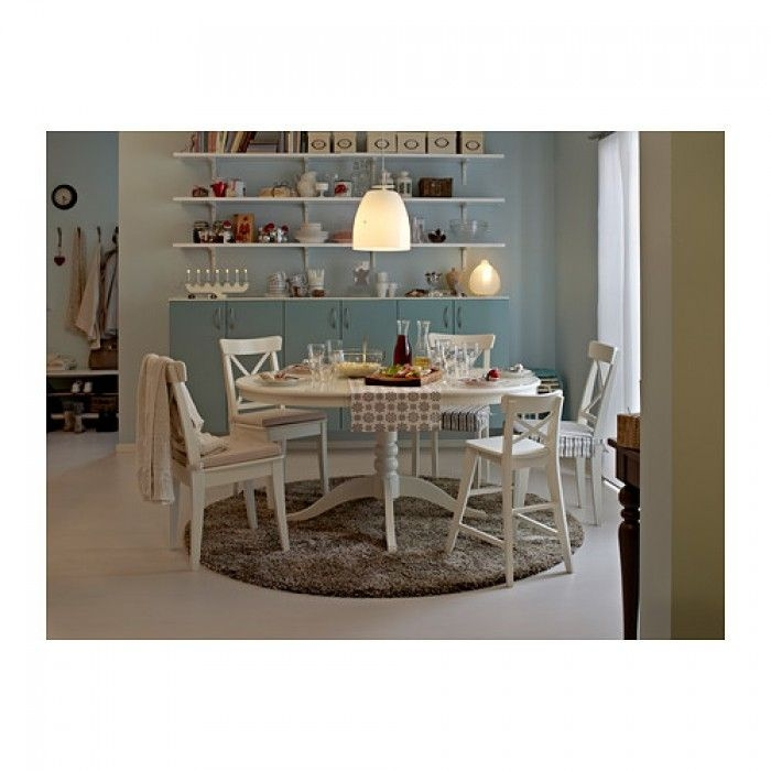 Round dining table with leaf extension 1  sc 1 st  Foter & Round Dining Table With Leaf Extension - Foter