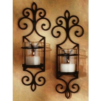 rustic candle sconces - Rustic Candle Wall Sconces