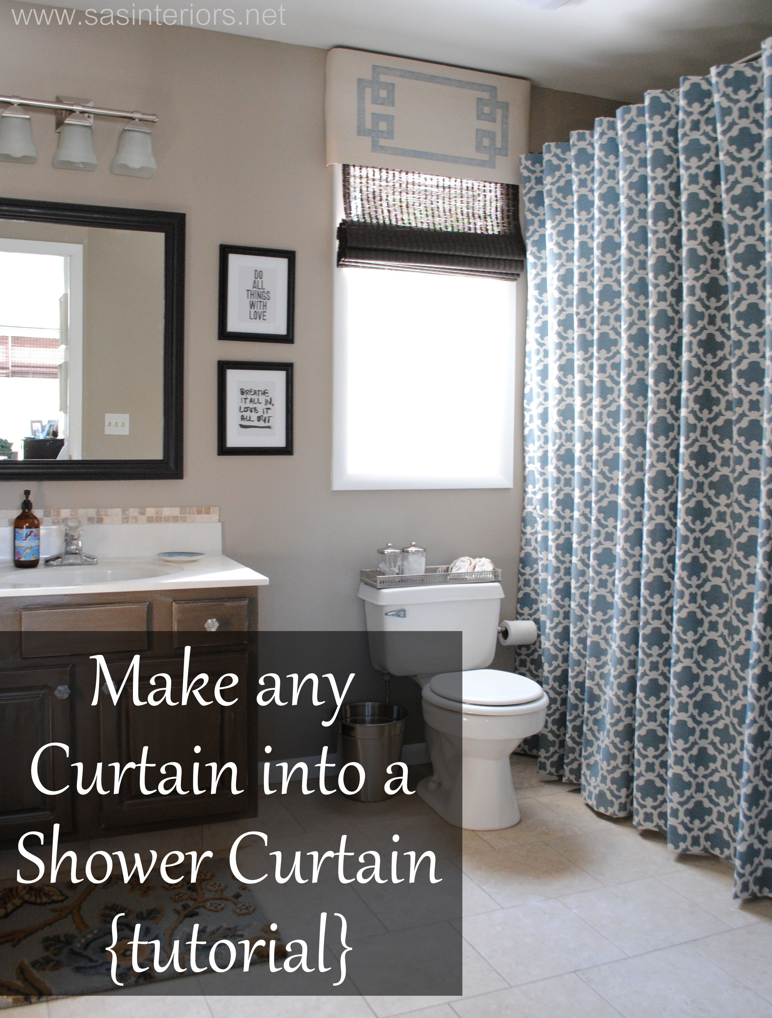 Shower curtain fabric 5