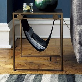 Side table magazine rack 16