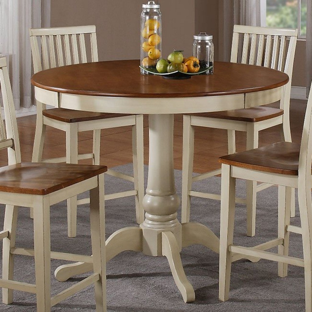 Steve Silver Company Candice Round Counter Height Dining Table In
