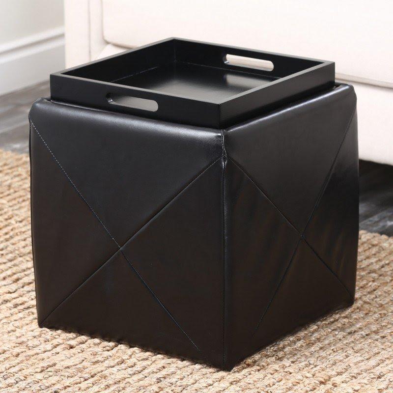Storage Footstool Cube