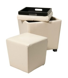Superb Storage Ottoman Cube With Tray Ideas On Foter Alphanode Cool Chair Designs And Ideas Alphanodeonline