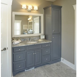 Bathroom Linen Cabinets | Tall Linen Cabinets For Bathroom For 2020 Ideas On Foter