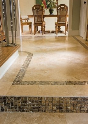 Travertine border tile 19
