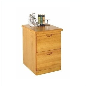 Solid Wood File Cabinet 2 Drawer - Foter