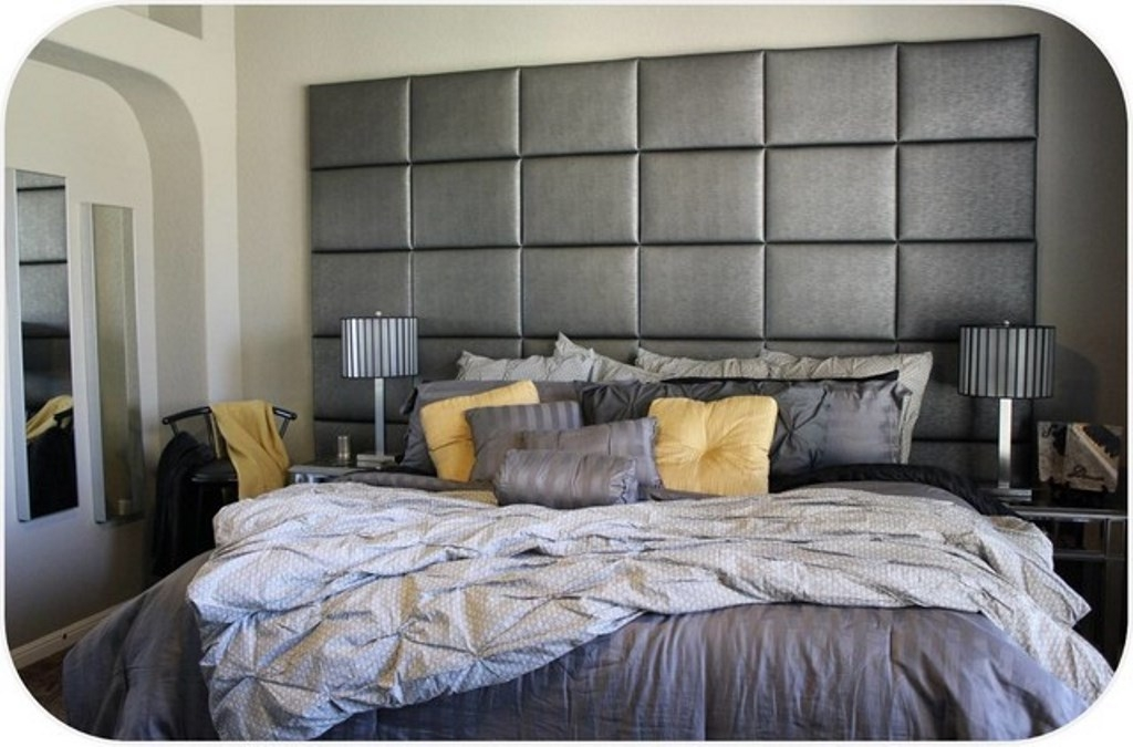 Good Wall Mounted Upholstered Headboard