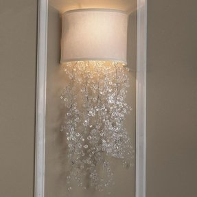 Wall sconce covers 1