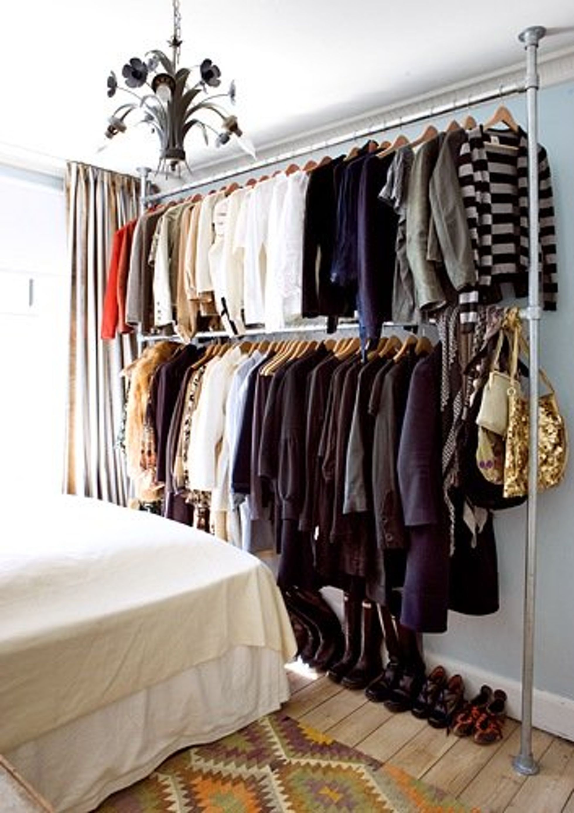 Wonderful Wardrobe Closet For Hanging Clothes 3