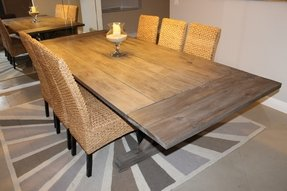 Weathered gray table emailed builder about finish and she said