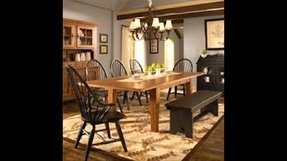 Windsor Dining Room Set 10