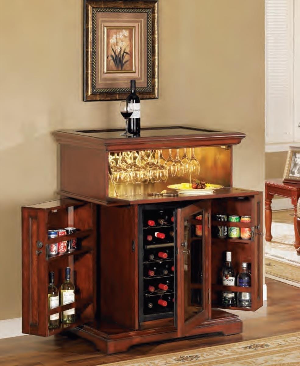 wine cooler cabinet furniture ideas on foter rh foter com Bar Fridge with Cabinet wine rack cabinet with fridge