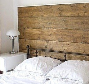 Wood and wrought iron headboards 1