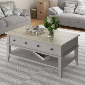Altra Country Style Rectangle Coffee Table, Natural