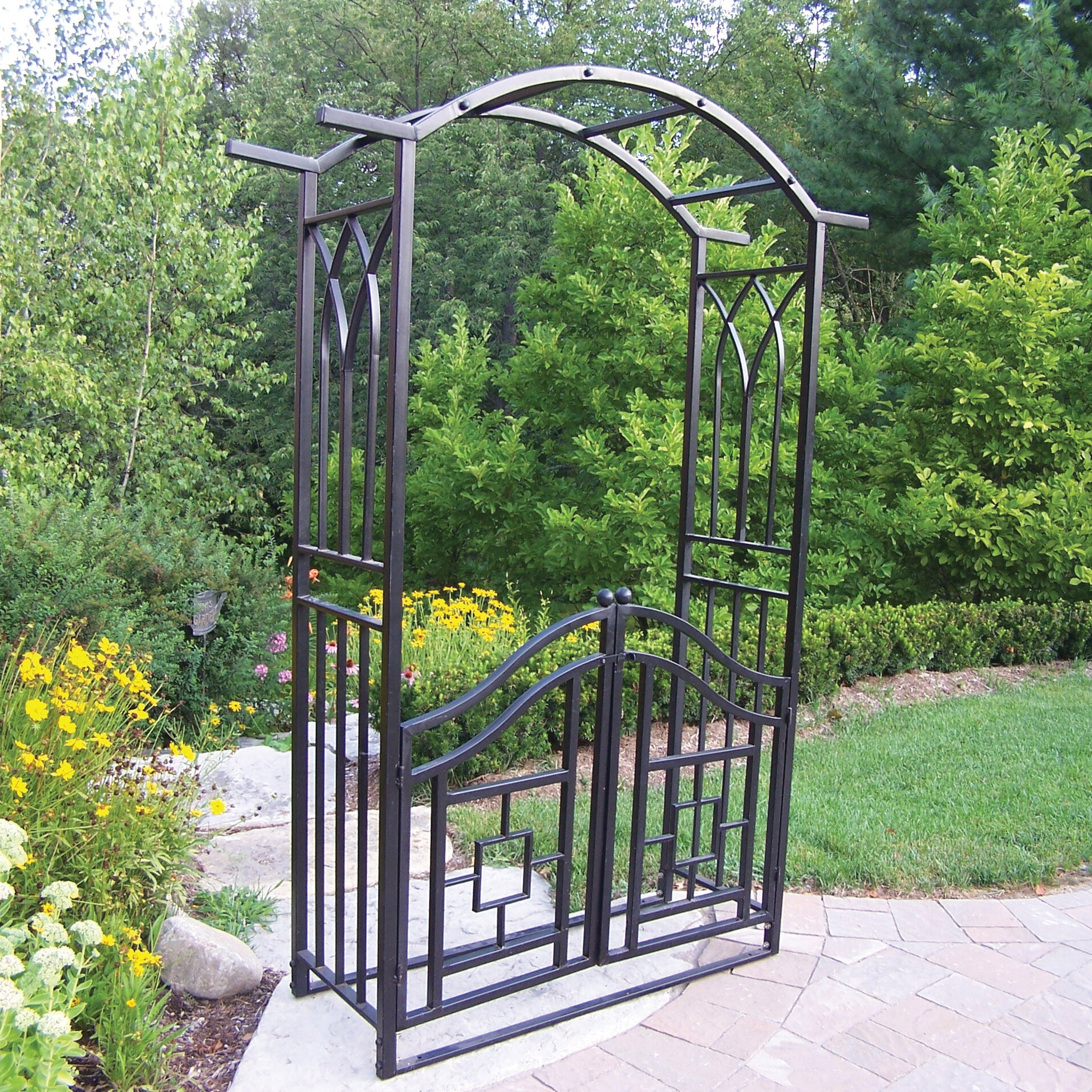 Arbors And Trellises Wayfair Buy Garden Trellis Arbor Garden Arches