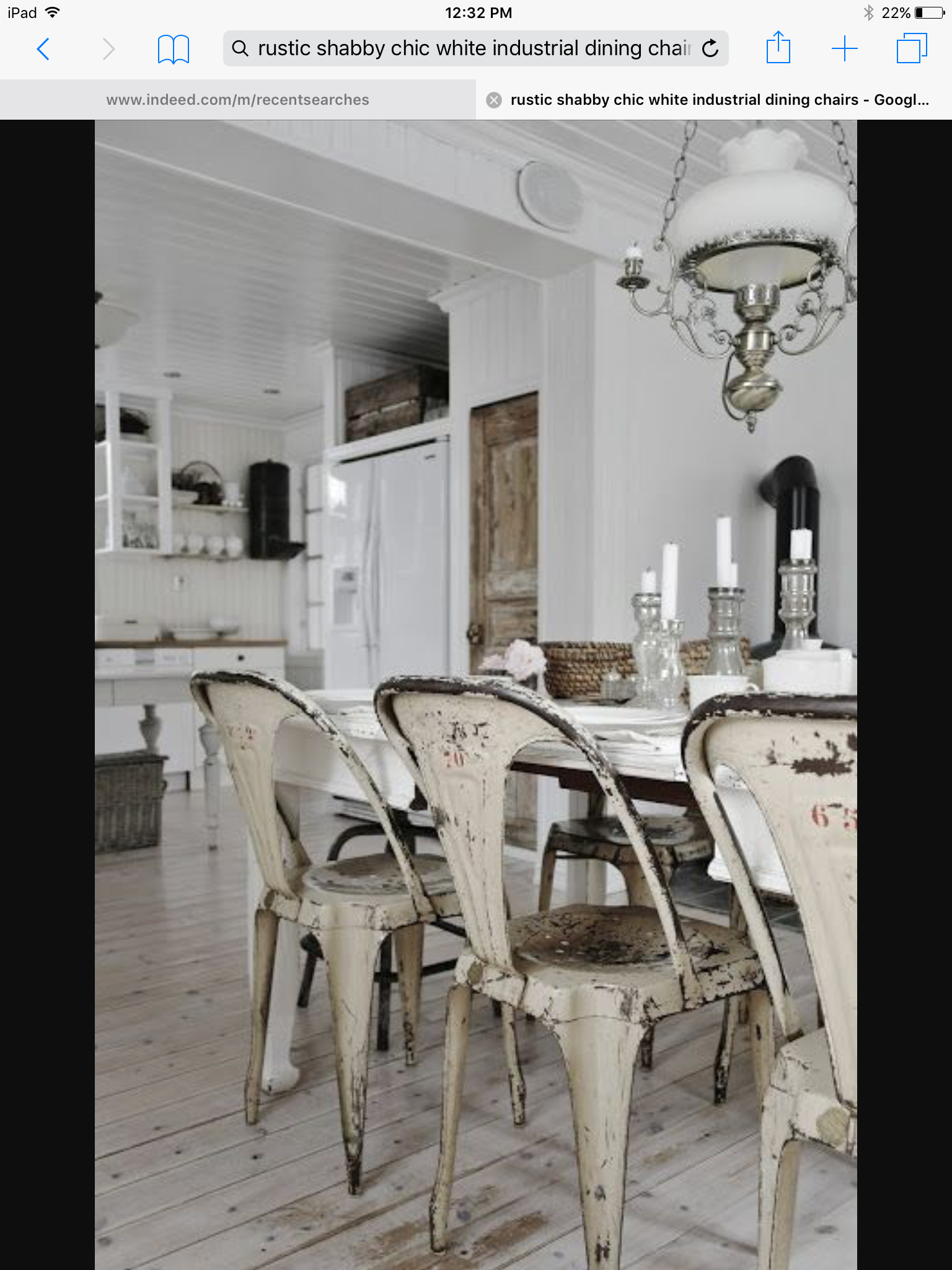 Bon Black Metal Kitchen Chairs
