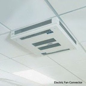 Ceiling mounted electric heaters