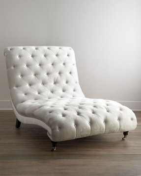 htm chaise white tufted transitional bedroom photo bench jennifer flanders
