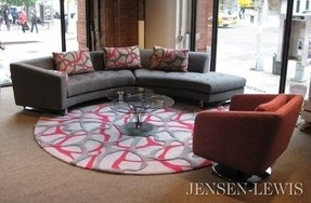 Circular sectional couch 11
