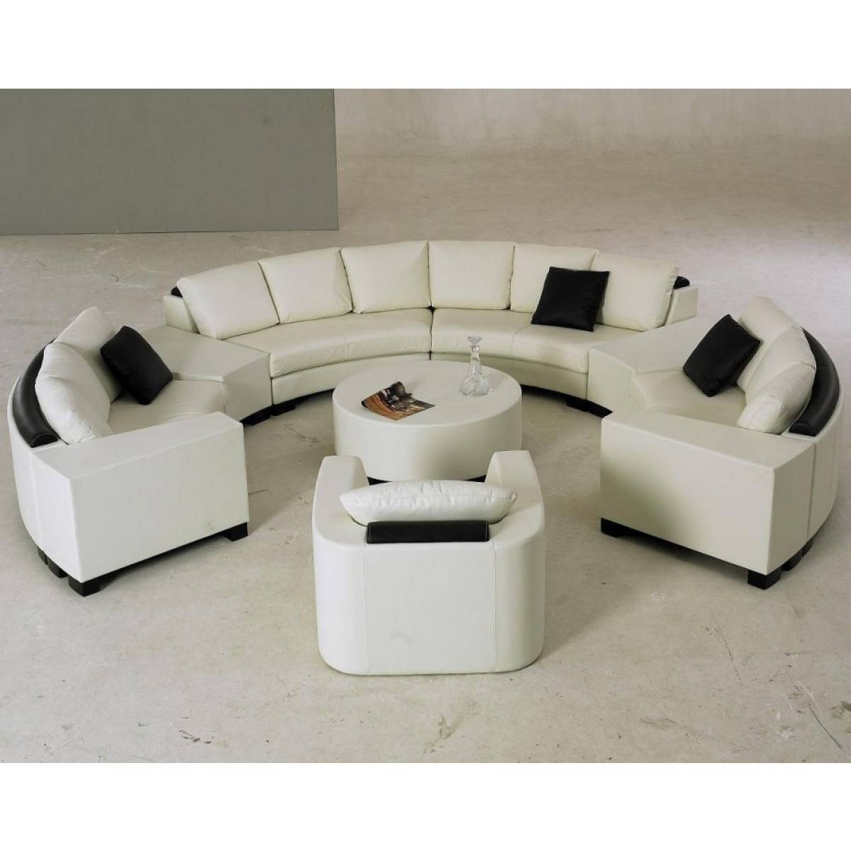 Circular Sectional Couch 19