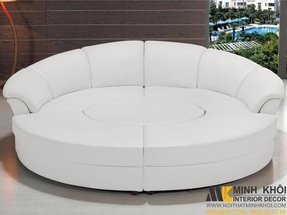 Circular sectional couch 3