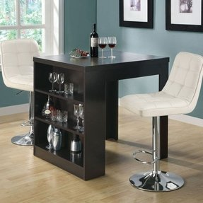 Dining table with wine storage 1