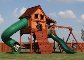 Diy wooden playset plans