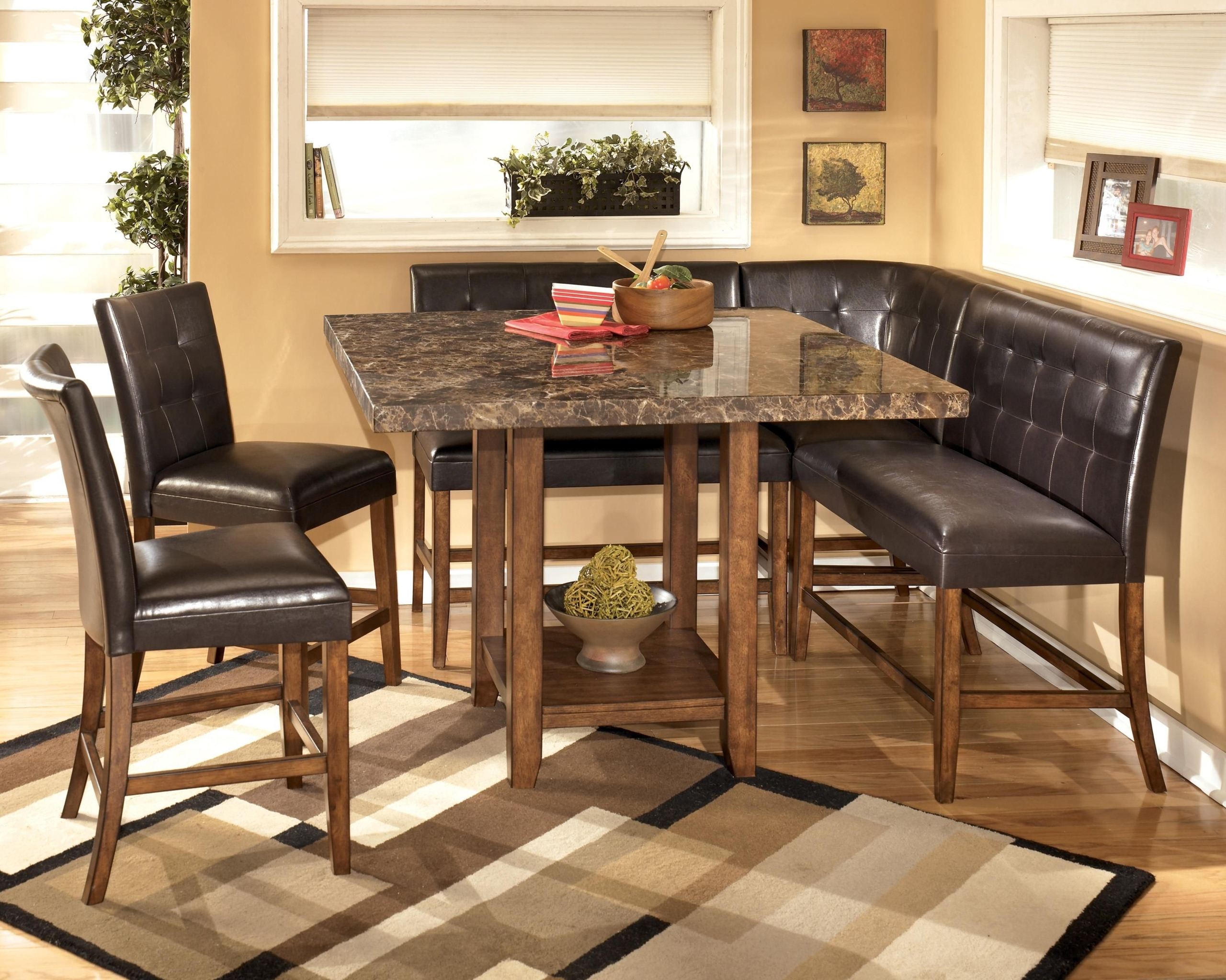 Faux marble top dining table set  sc 1 st  Foter & Faux Marble Dining Table Set - Foter