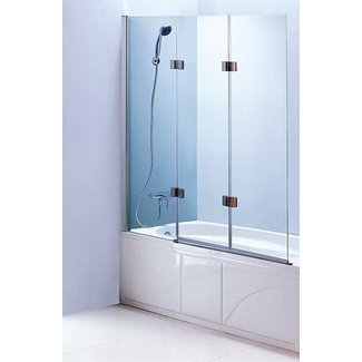Folding bathtub doors 2