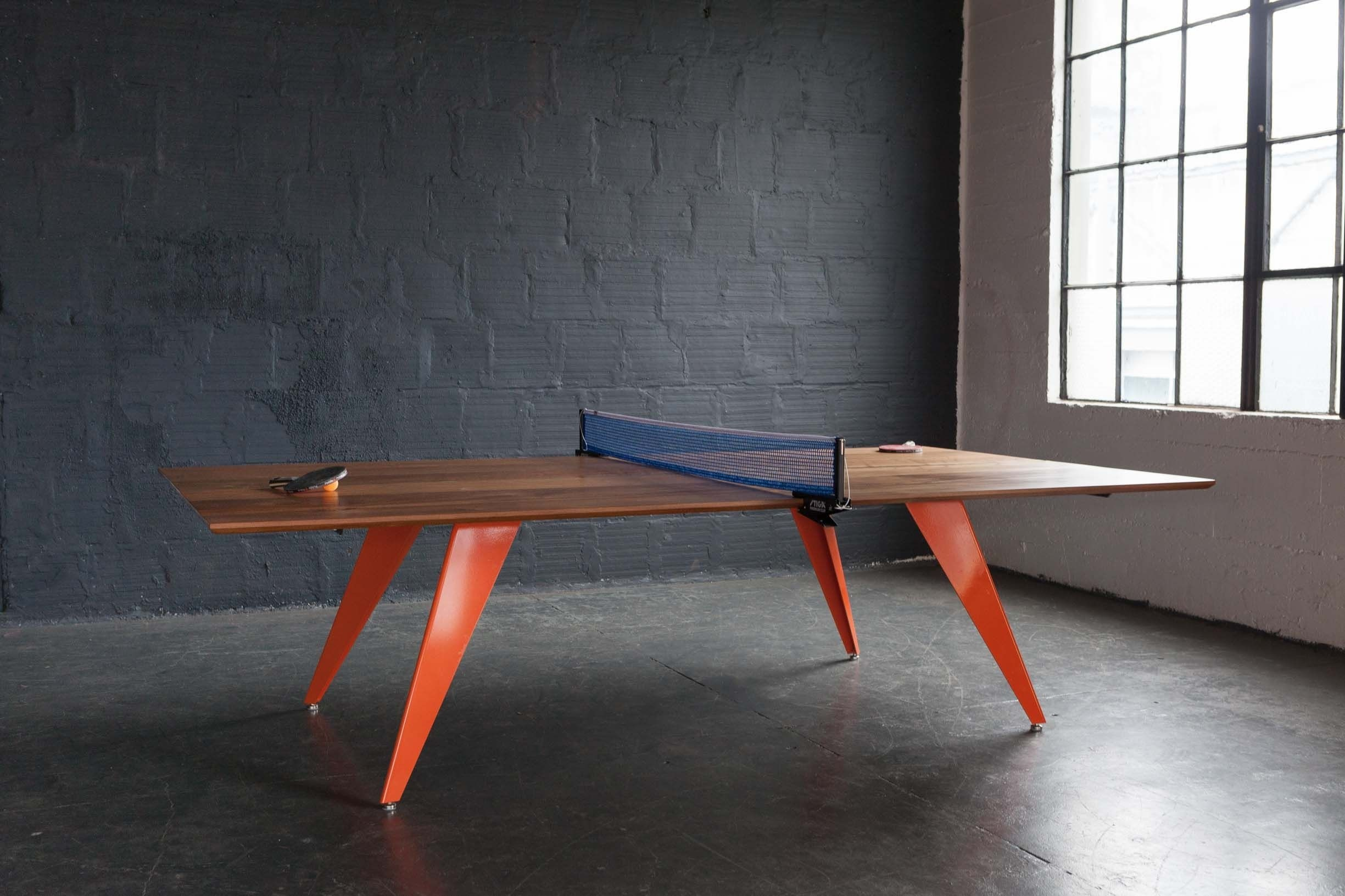 Marvelous Homemade Ping Pong Table